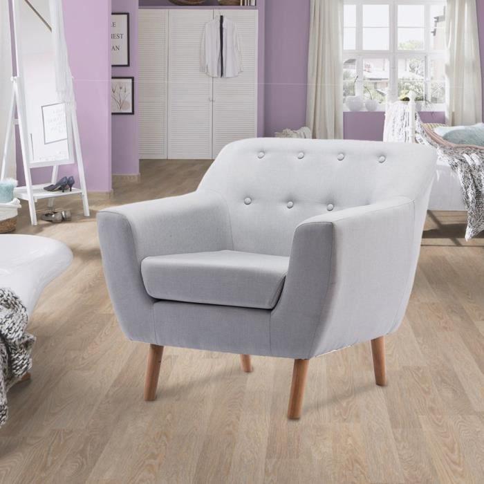 Moderne Chaise Sofa Salon Lounge Bois Fauteuil De Design En ...
