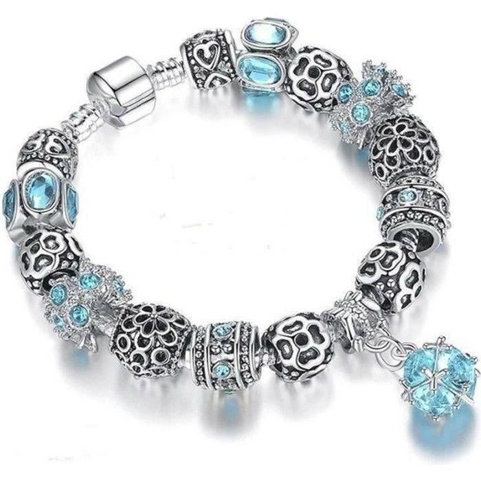 Style Boule Pandora 925 Charm Argent Bracelet F1J3KT5ucl