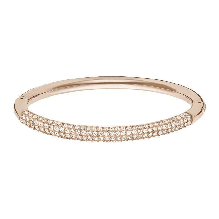 Bracelet Jonc Swarovski Stone Mini - 5032849 Rose
