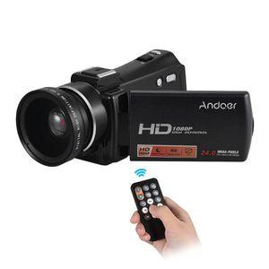 CAMÉSCOPE NUMÉRIQUE Andoer  Portable Caméra Vidéo Numérique HDV-V7 PLU