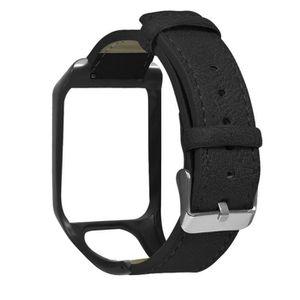 MONTRE Remplacement rétro en cuir du bracelet montre pour