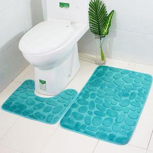 Tapis de bain Lasalle en différents modèles Tapis de toilette Tapis ...