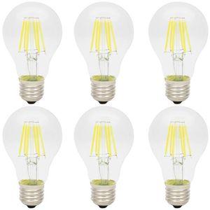 AMPOULE - LED 6X E27 Ampoule Edison Retro 6W Lampe à Filament LE