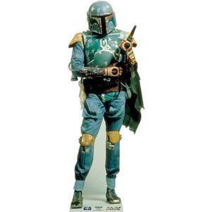 OBJET DÉCORATIF Figurine en carton taille réelle Boba Feet Star Wa