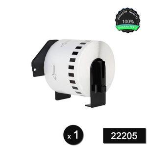 RUBAN - ENCREUR DK22205 Rouleau Papier Etiquettes compatible pour