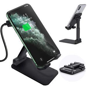 CHARGEUR TÉLÉPHONE Chargeur Sans Fil Qi Rapide 10W Pliable Support Té