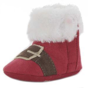 BOTTINE Botillon Père Noel - bébé mixte - rouge