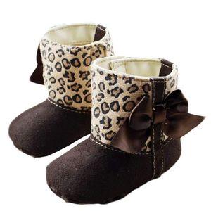 BOTTE Bébé Bottes de neige douce Lit Chaussures enfant e