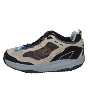 check out d7f26 b7be8 BASKET SKECHERS Chaussures Homme Baskets Beige BY886 ...