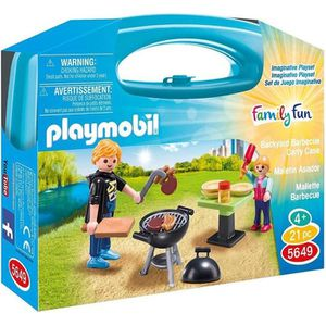 FIGURINE - PERSONNAGE PLAYMOBIL 5649 Valisette barbecue