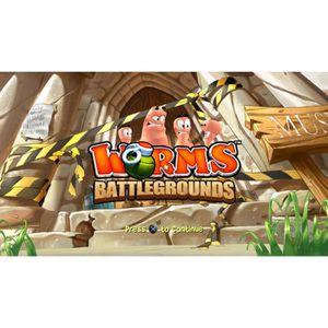 JEU PS4 Worms Battlegrounds (PS4) - Import Anglais