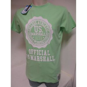 T-SHIRT US MARSHALL HOMME T-SHIRTS ANIS TAILLE W/L /US21