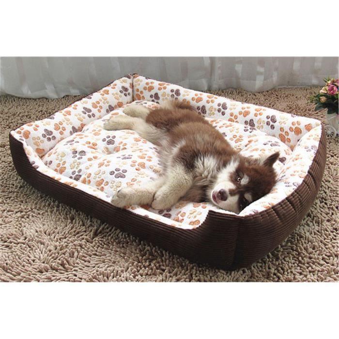 Ouniondo® Chaud Dog Pet Beds Maison Cat Coussin Mat Pad Panier Emboîtable Souple Pour Chiens Bg - S_poi1036