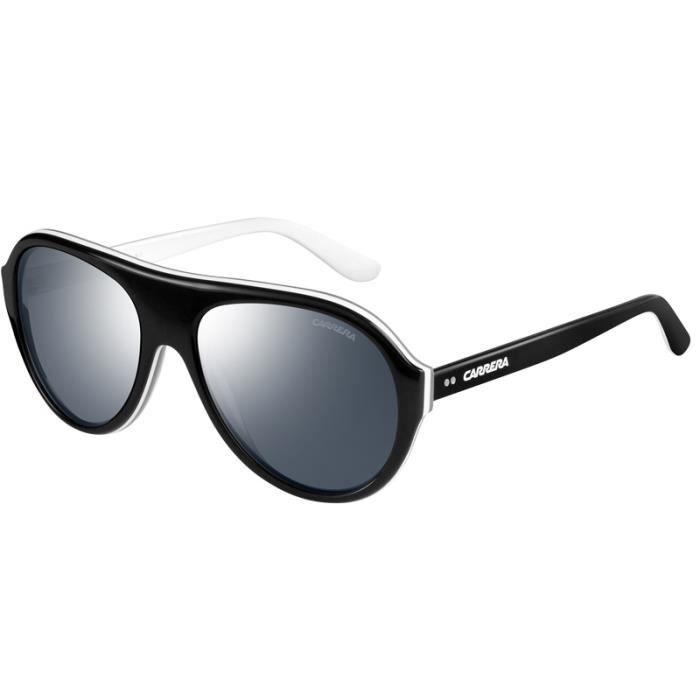 b1de139d4da87 CARRERA Lunettes de soleil polarisé PILOT CHAMPION mixte noir blanc ...