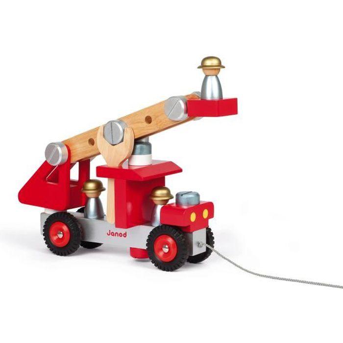 ASSEMBLAGE CONSTRUCTION JANOD Camion De Pompiers