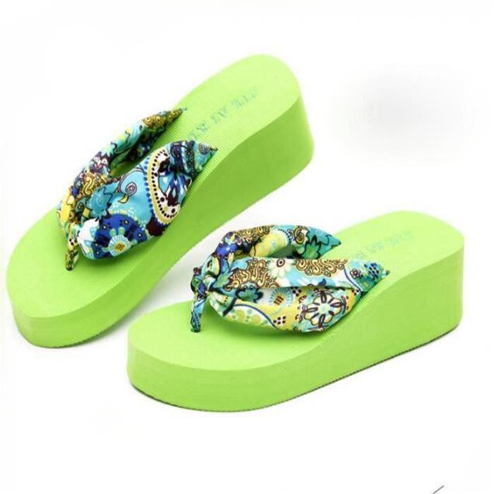 sandales tongs pantoufles femmes thong sandals tongs femme chaussure été chaussures Femme tongs sandals beach sandale plage