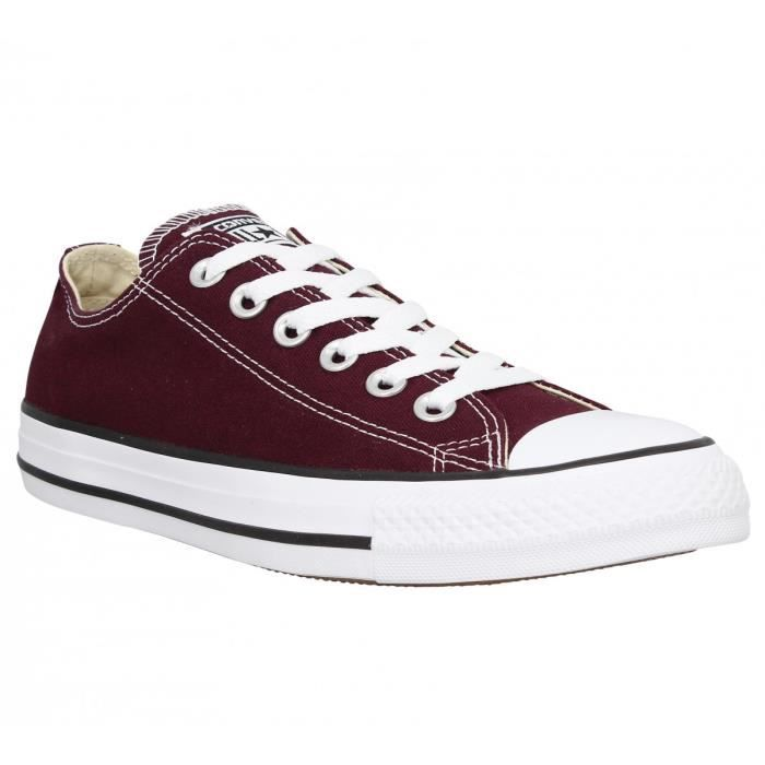 c8eb68b6dad19 Baskets CONVERSE Chuck Taylor All Star toile Femme-41-Sangria Rouge ...