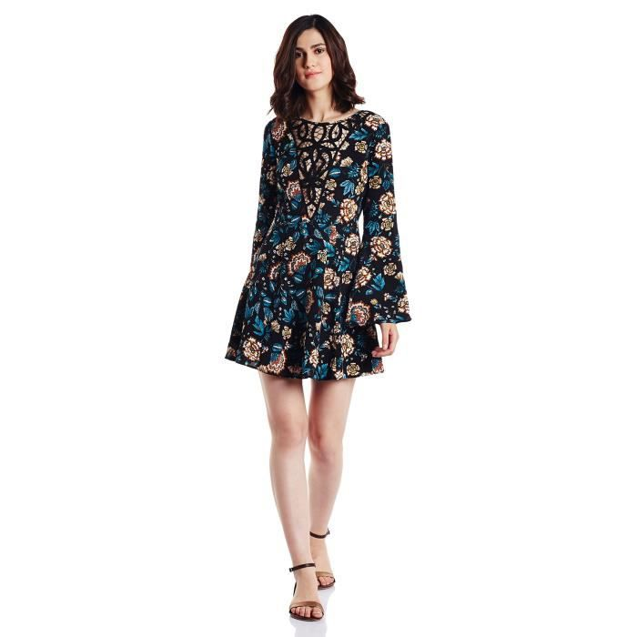 Forever 21 Womens Cotton A-line Dress T10IZ Taille-36