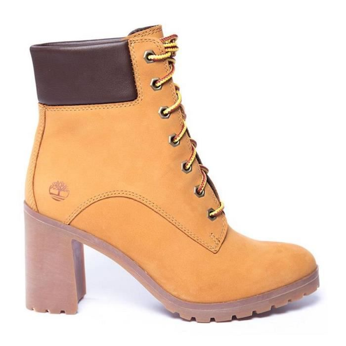 b892bcd3a1a Boots Femmes TIMBERLAND. Marron Marron - Achat   Vente bottine ...