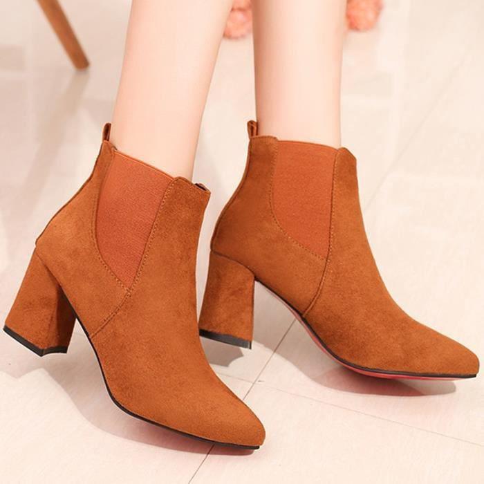 Chaussures Pour Femmes, Angleterre, Martin Bottes, Mode, Chaussures Pour Femmes, Bottes Martin Confortables Et Antidérapantes , gris , 37 EUR