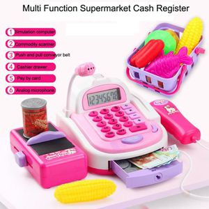 CAISSE ENREGISTREUSE Pretend Play Electronic Cash Register Toy Actions