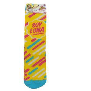 CHAUSSETTES 1 paire de chaussettes fille SOY LUNA pointure 31/