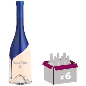 VIN ROSÉ Lot  de 6 Cuvée 281 Château Minuty Côtes de Proven