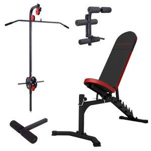 BANC DE MUSCULATION Station de musculation banc + équipement Marbo-Spo