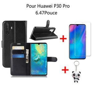 coque huawei p30 pro view flip