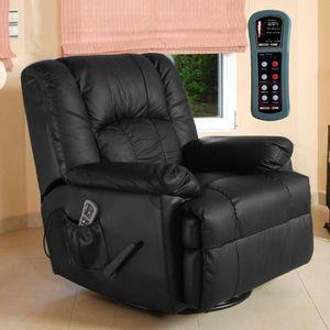 FAUTEUIL ECO-DE® ECO-8615 Fauteuil de massage chauffant NOI