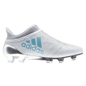 CHAUSSURES DE FOOTBALL Chaussures football adidas X 17 Purespeed FG Blan