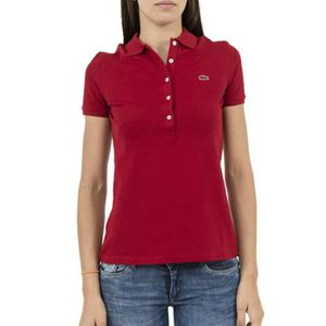 6b686f857b Polos lacoste pf7845 rouge Rouge Rouge - Achat / Vente polo - Cdiscount