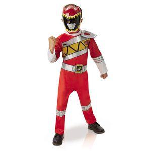 DÉGUISEMENT - PANOPLIE Déguisement Power Ranger Rouge : Dino Charge : 7/8