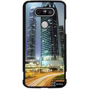 COQUE - BUMPER Coque LG G5 - Grattes-Ciels Hong Kong - 315