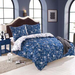 housse de couette 200x220 achat vente pas cher. Black Bedroom Furniture Sets. Home Design Ideas