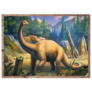 PUZZLE Puzzle 35 pièces 4 Puzzles - Dinosaures