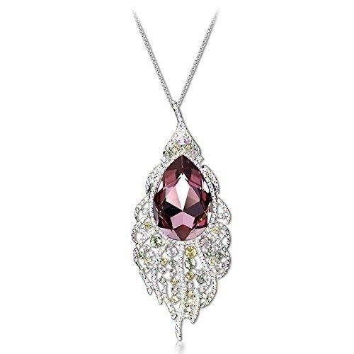 Womens Crystal Elets Limited Edition Sparkling Colors Delicate Design Platinum Plated Stunning Pen XQZF0