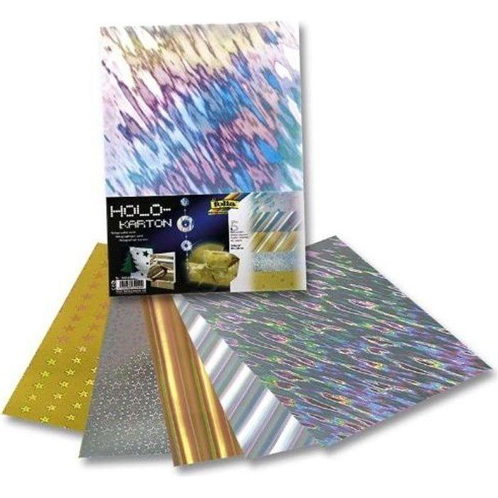 papier carton holographique 230g 25x35cm lot achat vente papier cr atif papier carton. Black Bedroom Furniture Sets. Home Design Ideas