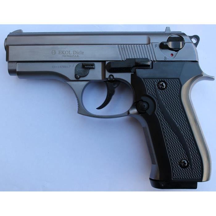 revolver d 39 alarme 9mm pas cher. Black Bedroom Furniture Sets. Home Design Ideas