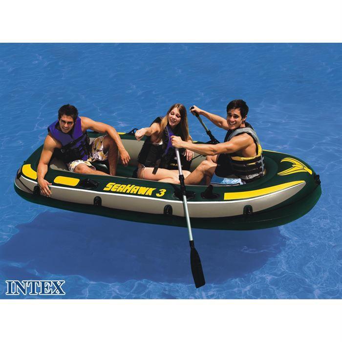 bateau gonflable 3 places seahawk 300 intex achat vente jeux de piscine cdiscount. Black Bedroom Furniture Sets. Home Design Ideas