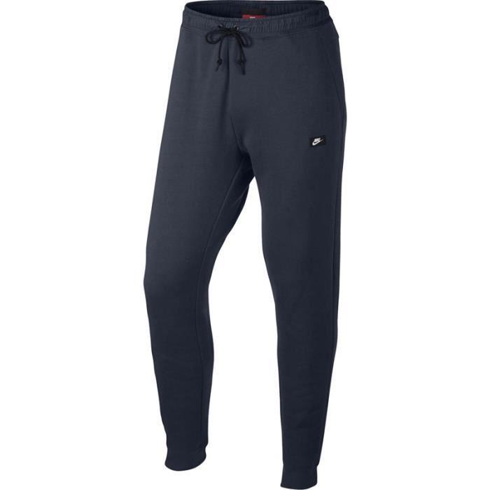 Nike Pantalons de Survêtement Homme Slim Molleton de Coton Bleu Bleu ... f9767d56b6a