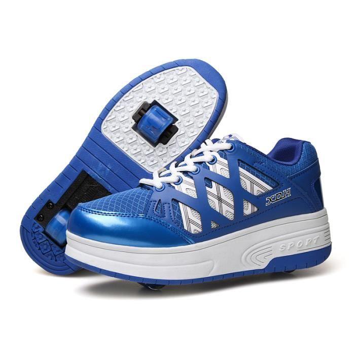 Baskets Enfants chaussures Heelys à roulettes garons filles Sneakers avec roues automatique de patinage chaussures