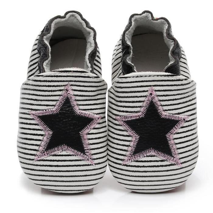 7c2711e1ee396 CHAUSSON - PANTOUFLE Chaussons bébé et enfant en cuir souple Chaussures