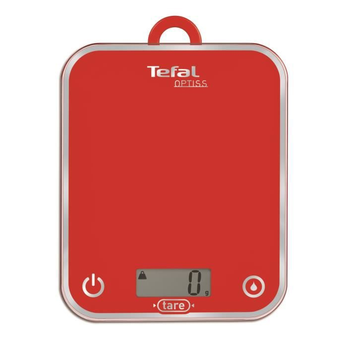 tefal balance culinaire optiss framboise bc5003v1 achat vente balance 233 lectronique