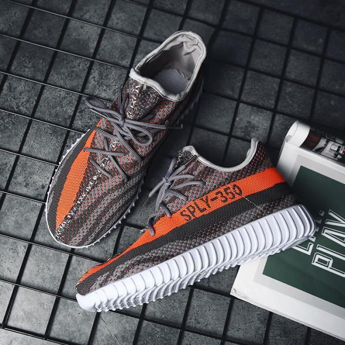 Baskets Sneskers Chaussures de sport décontractées pour Hommes Femme Chaussures en coco