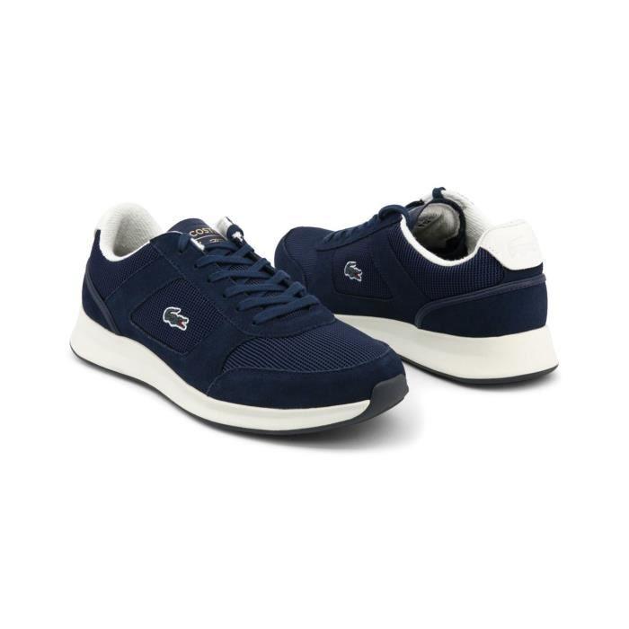 suédées marine Bleu Joggeur Lacoste Sneakers Rfwq6