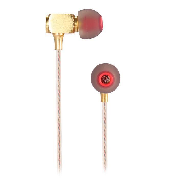 Lapas Rx400 Hifi Musique Écouteurs Intra-auriculaires En Ligne De Commande Laiton Boîtier Antibruit