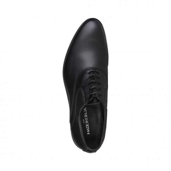 Moliere - Made in Italia - Chaussures à lacets pour Homme noir Made in Italia rJPtuINl3T