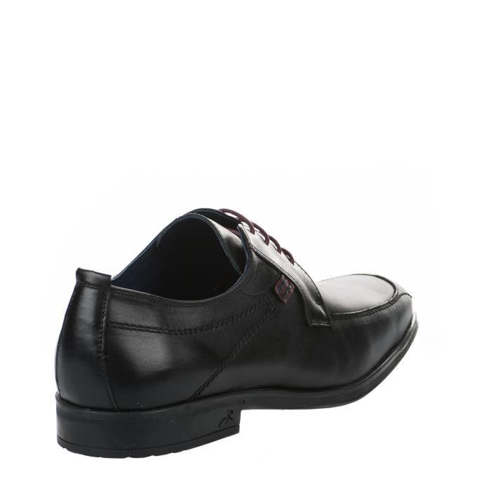 Chaussures à lacet homme - FLUCHOS - Noir - 9494 HABA - Millim
