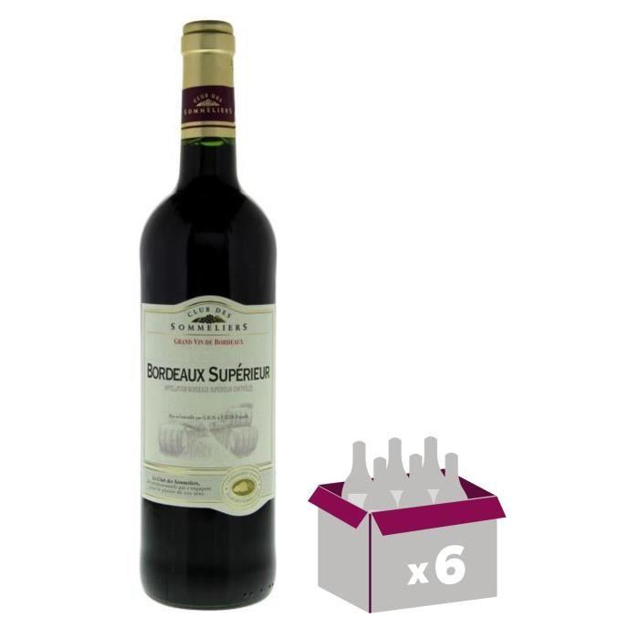 Bordeaux Supérieur - 75 clVIN ROUGE